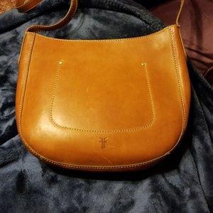 Frye leather crossbody bag